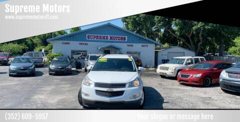 2009 Chevrolet Traverse for sale at Supreme Motors in Tavares FL