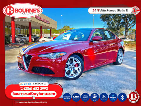 2018 Alfa Romeo Giulia for sale at Bourne's Auto Center in Daytona Beach FL
