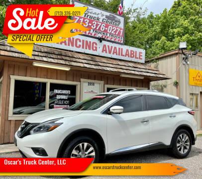 2018 Nissan Murano for sale at Oscar's Truck Center, LLC in Houston TX