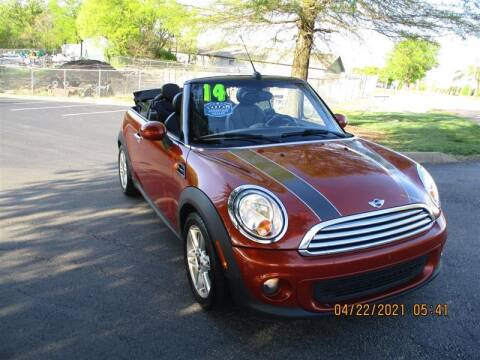 2014 MINI Convertible for sale at Euro Asian Cars in Knoxville TN