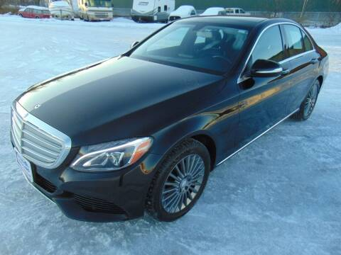2015 Mercedes-Benz C-Class for sale at Dependable Used Cars in Anchorage AK