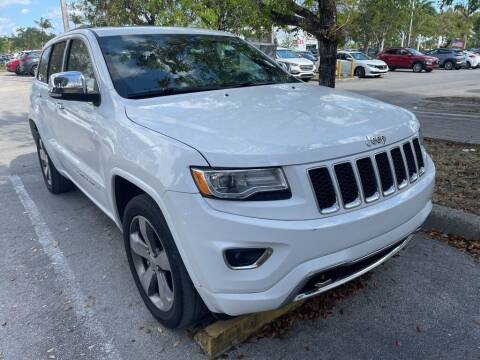 2016 Jeep Grand Cherokee for sale at DORAL HYUNDAI in Doral FL
