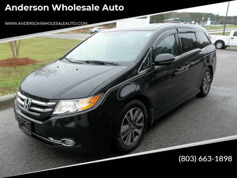 2014 Honda Odyssey for sale at Anderson Wholesale Auto in Warrenville SC