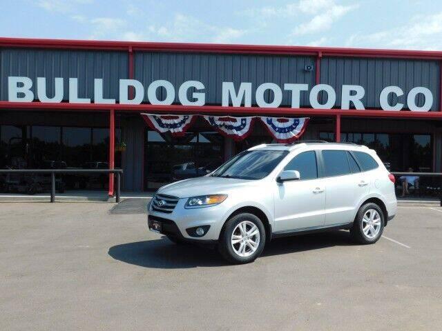 2012 Hyundai Santa Fe for sale at Bulldog Motor Company in Borger TX