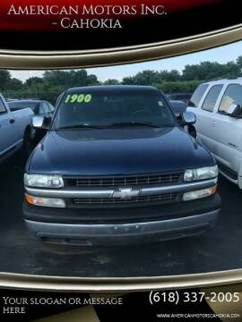 1999 Chevrolet Silverado 1500 for sale at American Motors Inc. - Cahokia in Cahokia IL