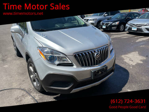 2014 Buick Encore for sale at Time Motor Sales in Minneapolis MN