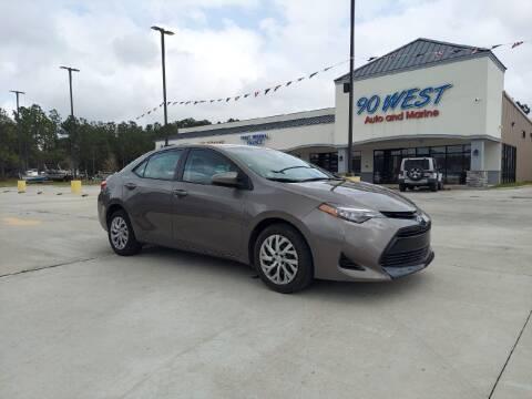 2019 Toyota Corolla for sale at 90 West Auto & Marine Inc in Mobile AL