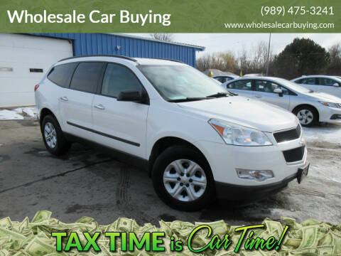 2011 Chevrolet Traverse for sale at Wholesale Car Buying in Saginaw MI