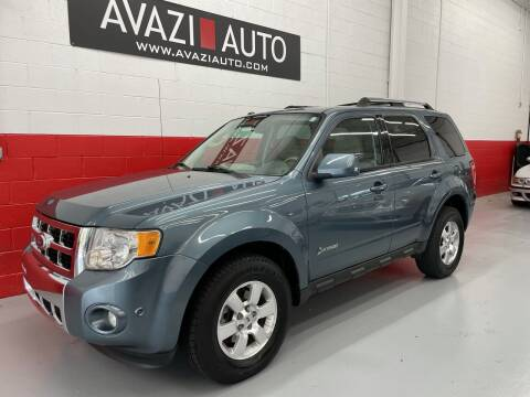 2010 Ford Escape Hybrid for sale at AVAZI AUTO GROUP LLC in Gaithersburg MD