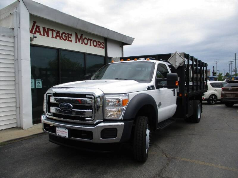 2015 Ford F-550 Super Duty for sale at Vantage Motors LLC in Raytown MO