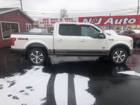 2016 Ford F-150 for sale at N & J Auto Sales in Warsaw IN