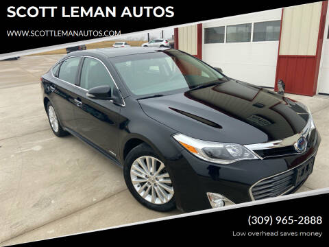 2015 Toyota Avalon Hybrid for sale at SCOTT LEMAN AUTOS in Goodfield IL