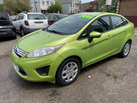 2011 Ford Fiesta for sale at Barnes Auto Group in Chicago IL