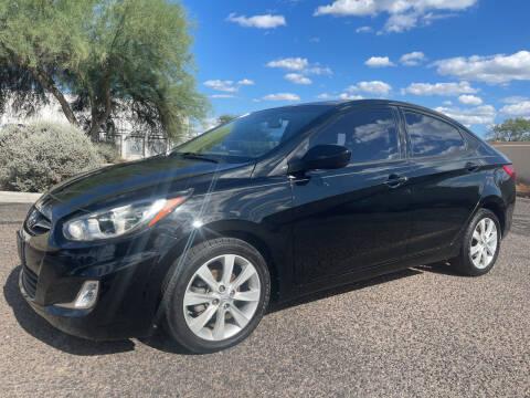 2012 Hyundai Accent for sale at Tucson Auto Sales in Tucson AZ