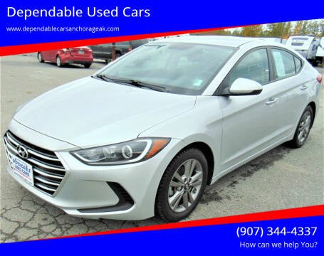 2017 Hyundai Elantra for sale at Dependable Used Cars in Anchorage AK