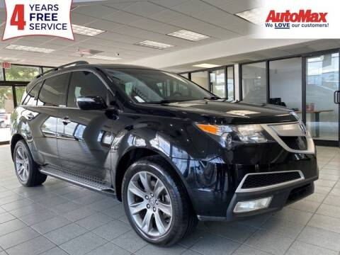 2011 Acura MDX for sale at Auto Max in Hollywood FL