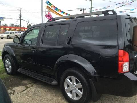 2008 Nissan Pathfinder for sale at Best Auto Sales in Baton Rouge LA