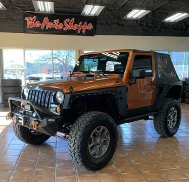 2010 Jeep Wrangler for sale at The Auto Shoppe in Springfield MO