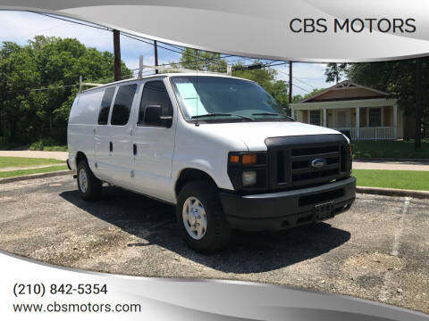 2008 Ford E-Series Cargo for sale at CBS MOTORS in San Antonio TX