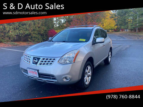 2010 Nissan Rogue for sale at S & D Auto Sales in Maynard MA