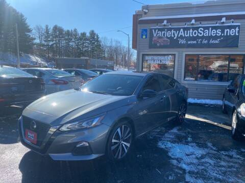 2019 Nissan Altima for sale at Variety Auto Sales in Worcester MA