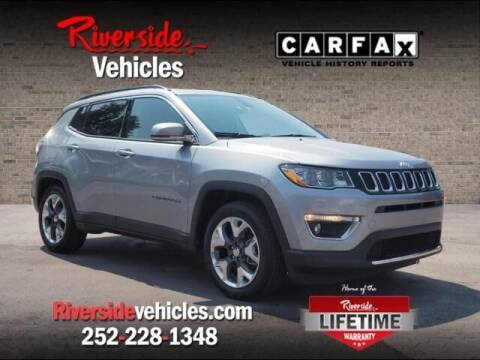 2019 Jeep Compass for sale at Riverside Mitsubishi(New Bern Auto Mart) in New Bern NC