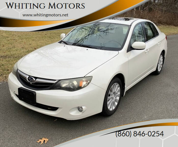 2011 Subaru Impreza for sale at Whiting Motors in Plainville CT