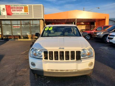 2006 Jeep Grand Cherokee for sale at North Chicago Car Sales Inc in Waukegan IL