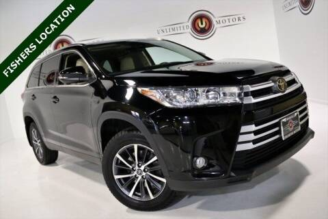 2019 Toyota Highlander for sale at Unlimited Motors in Fishers IN