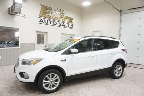 2018 Ford Escape for sale at Elite Auto Sales in Ammon ID