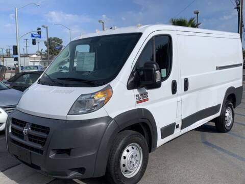 2018 RAM ProMaster Cargo for sale at Best Car Sales in South Gate CA