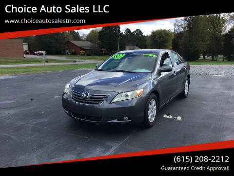 2007 Toyota Camry for sale at Choice Auto Sales LLC - Buy Here Pay Here in White House TN