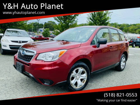 2015 Subaru Forester for sale at Y&H Auto Planet in West Sand Lake NY