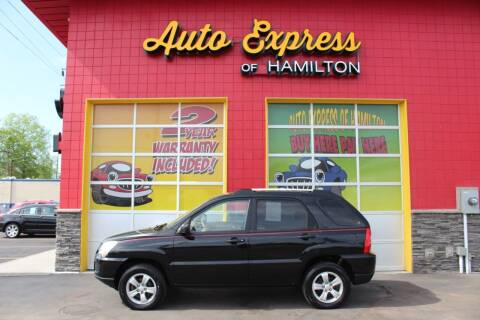 2009 Kia Sportage for sale at AUTO EXPRESS OF HAMILTON LLC in Hamilton OH