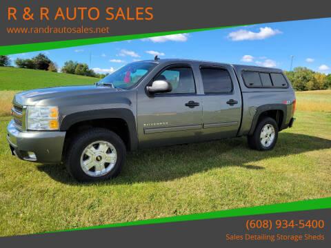 2011 Chevrolet Silverado 1500 for sale at R & R AUTO SALES in Juda WI