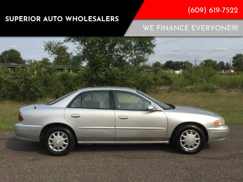 2004 Buick Century for sale at Superior Auto Wholesalers in Burlington City NJ