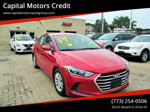 2017 Hyundai Elantra for sale at Capital Motors Credit, Inc. in Chicago IL