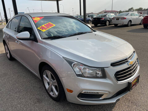 2015 Chevrolet Cruze for sale at Top Line Auto Sales in Idaho Falls ID
