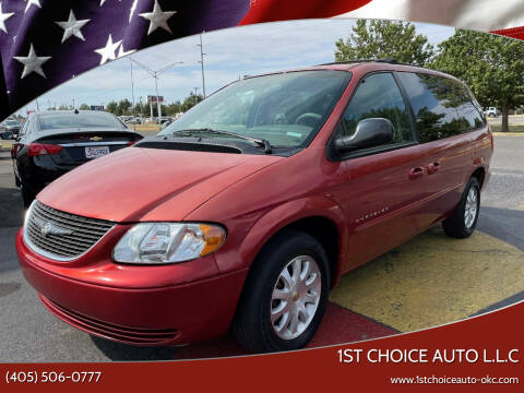 2001 Chrysler Town and Country for sale at 1st Choice Auto L.L.C in Oklahoma City OK