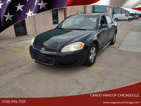 2010 Chevrolet Impala for sale at Cargo Vans of Chicago LLC in Mokena IL