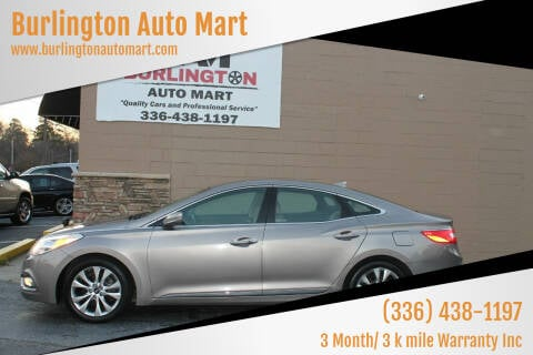 2013 Hyundai Azera for sale at Burlington Auto Mart in Burlington NC