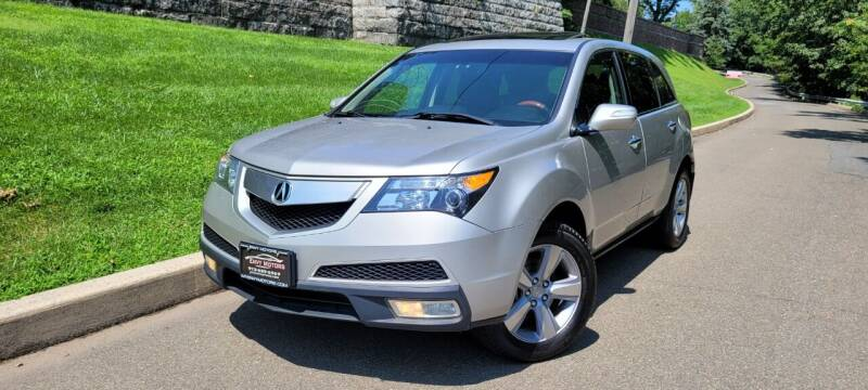 2011 Acura MDX for sale at ENVY MOTORS in Paterson NJ