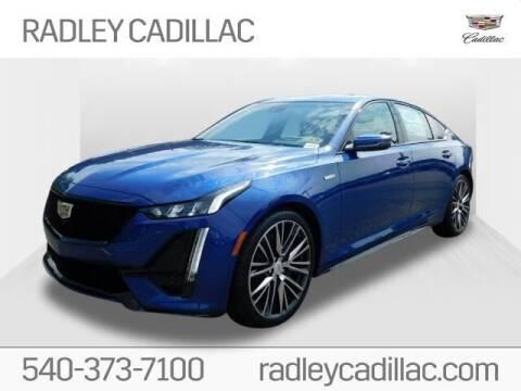 2020 Cadillac CT5 for sale at Radley Cadillac in Fredericksburg VA