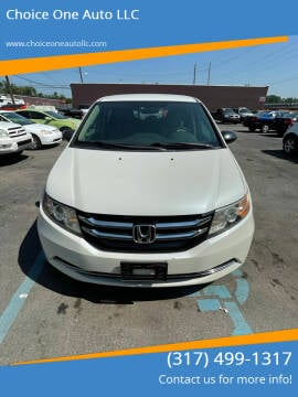 2014 Honda Odyssey for sale at Choice One Auto LLC in Beech Grove IN