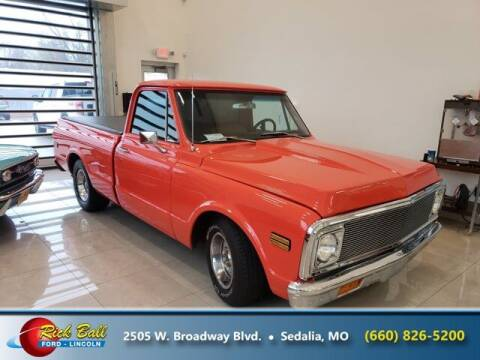 1972 Chevrolet C/K 10 Series for sale at RICK BALL FORD in Sedalia MO