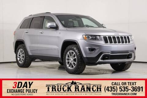 2015 Jeep Grand Cherokee for sale at Truck Ranch in Logan UT