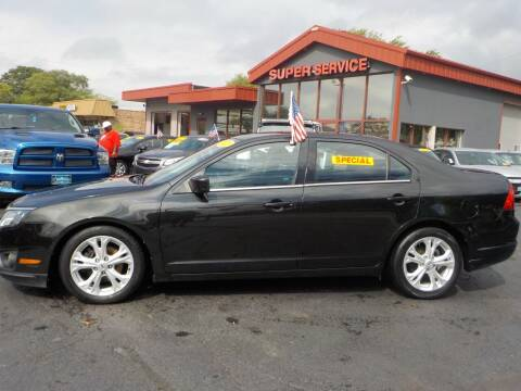2012 Ford Fusion for sale at Super Service Used Cars in Milwaukee WI