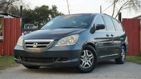 2006 Honda Odyssey for sale at Hidalgo Motors Co in Houston TX