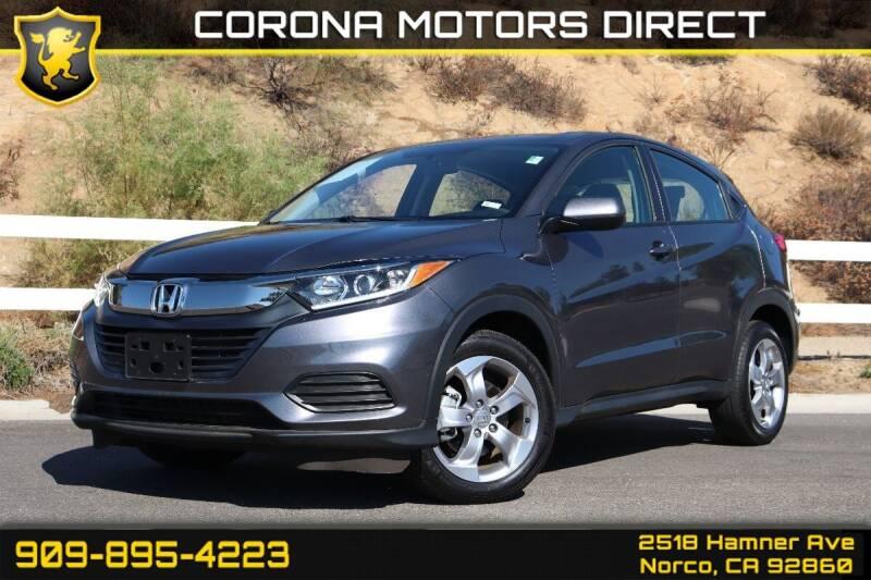2020 Honda HR-V for sale in Norco, CA