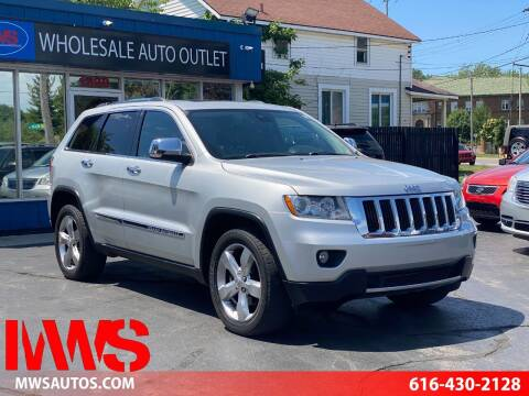 2013 Jeep Grand Cherokee for sale at MWS Wholesale  Auto Outlet in Grand Rapids MI